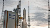 Ariane 5 Flight VA207 on the launchpad