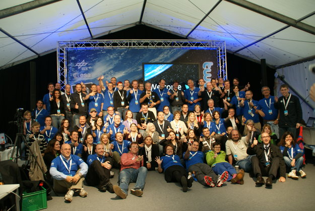 Astronauts and participants at the event formerly known as 'Spacetweetup' 2011