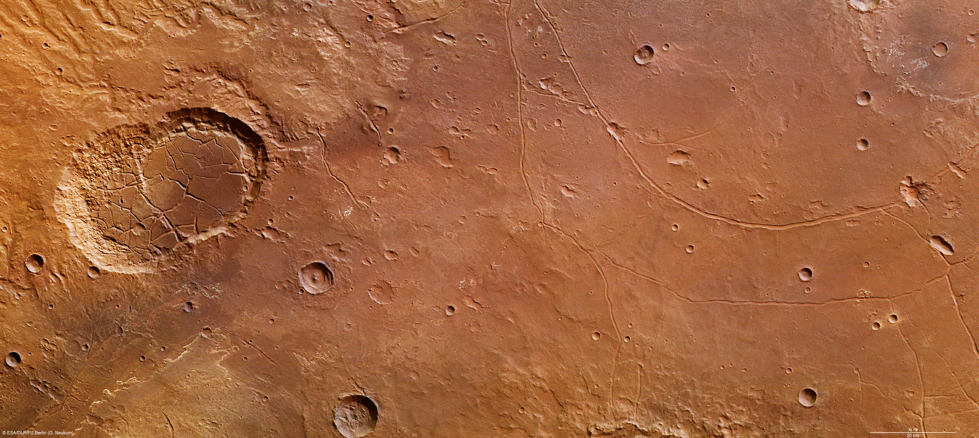 mars surface features - HD1440×810