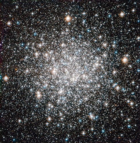 Messier 68 captured by Hubble