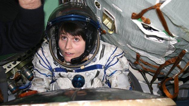 Samantha Cristoforetti Soyuz training at GCTC