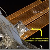 NASA's SCaN Testbed is an advanced, integrated communications lab facility on the ISS; in 2017, one experiment will include the simultaneous receipt of US GPS and European Galileo signals.