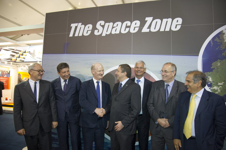 Space Day Conference, Farnborough airshow, 10 July 2012