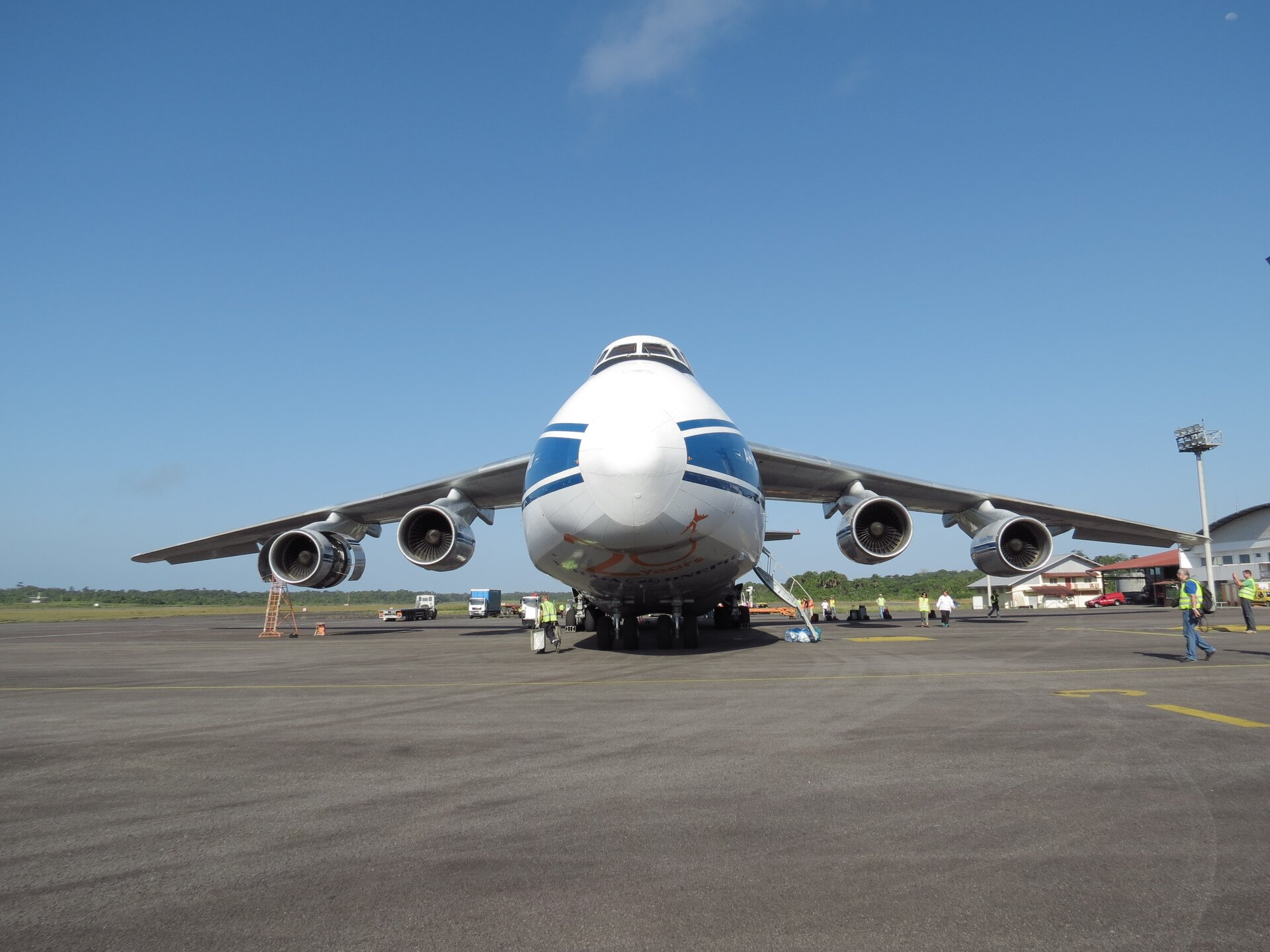 Antonov at Cayenne Airport