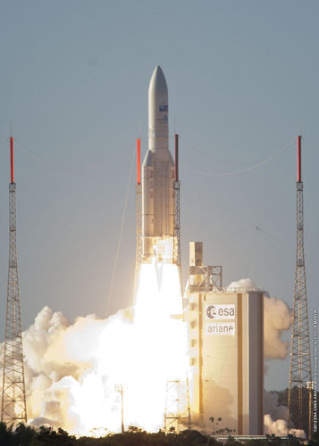 Ariane 5 flight VA208 take-off