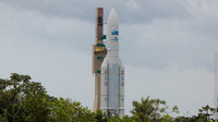 Ariane 5 VA208 transferred to launchpad