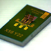 Microvisk's Micro Electro Mechanical System (MEMS) chip