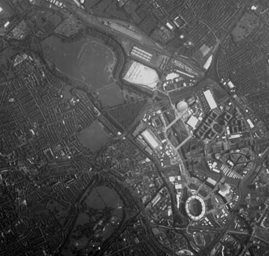 Proba-1 image of London Olympic neighbourhood