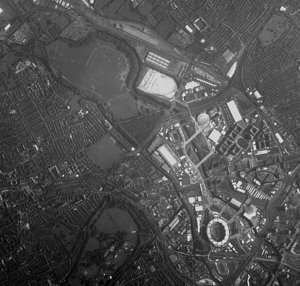 Proba-1 HRC image of London Olympic Park neighbourhood