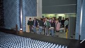 Visitors at the ESTEC Test Centre
