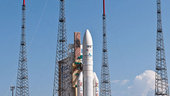 Ariane flight VA209 in the launch zone