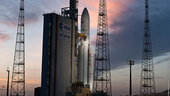 Ariane flight VA209 ready for launch