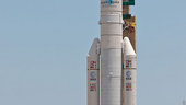 Ariane flight VA209 transfer to launch pad