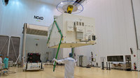Galileo FM4 arrives in Kourou