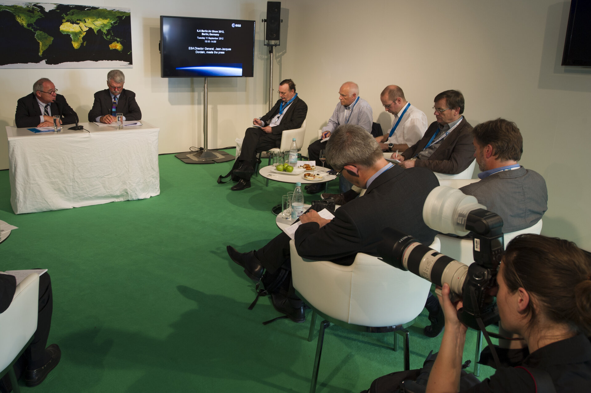 J.J. Dordain meets the press, 11 September 2012