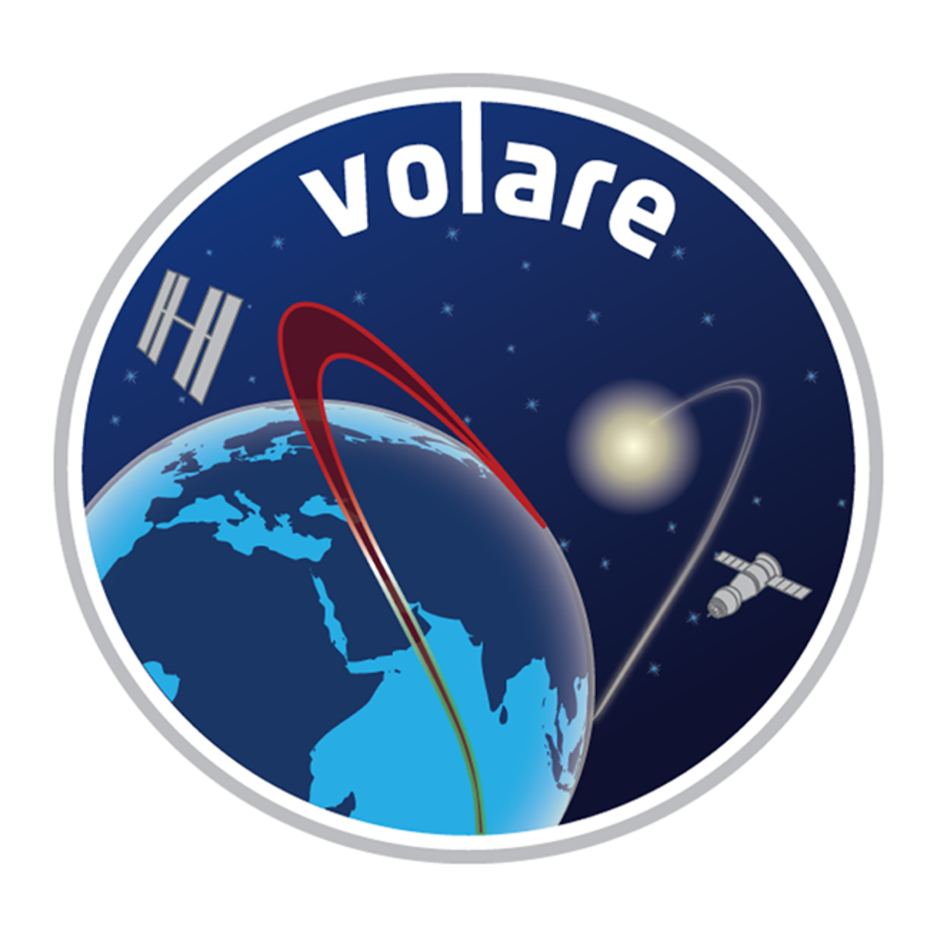 Soyuz TMA-09M, Volare mission patch, 2013