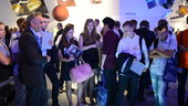 Students from the German-Polish Copernicus project visit the exh