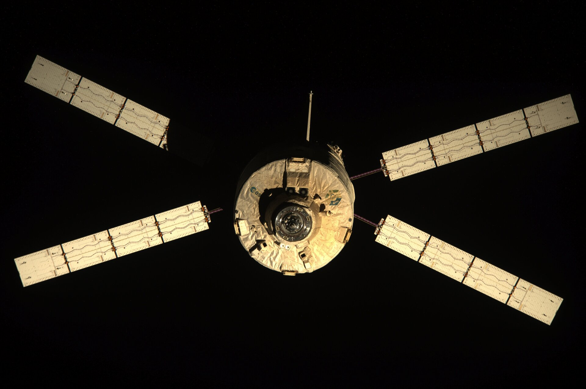 ATV-3 leaves Space Station