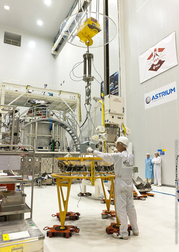 ATV-4 docking system test