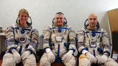 Expedition 36/37 crew during training