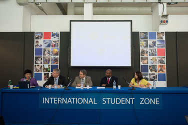'Human Exploration' conference at the International Student Zone