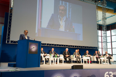 Plenary session  with heads and top representatives of space agencies