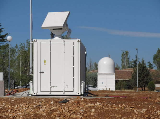 Test radar installed in Spain