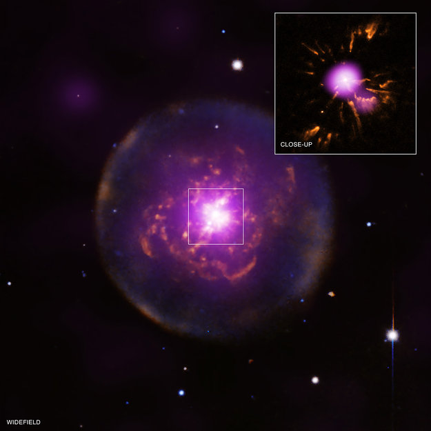 Born-again star foreshadows fate of Solar System / Space Science