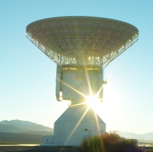 35m tracking station at Malargüe, Argentina