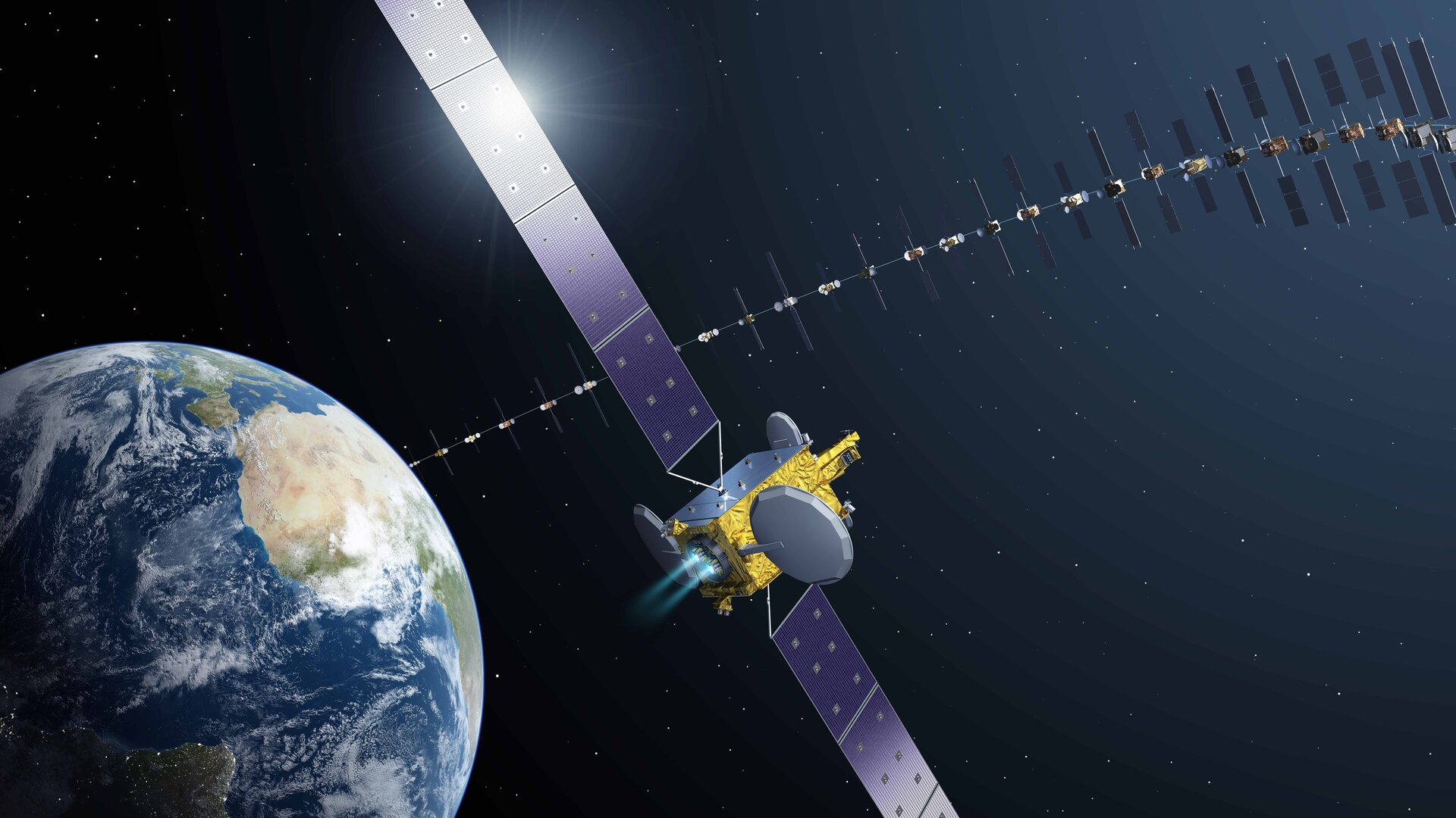 Electra: Europe's first electric propulsion satellite
