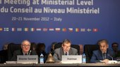 ESA Council at Ministerial Level, Naples, November 2012