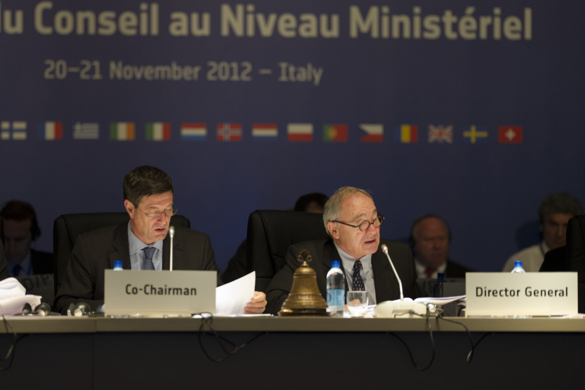 ESA Council at Ministerial Level, Naples, 21 November 2012