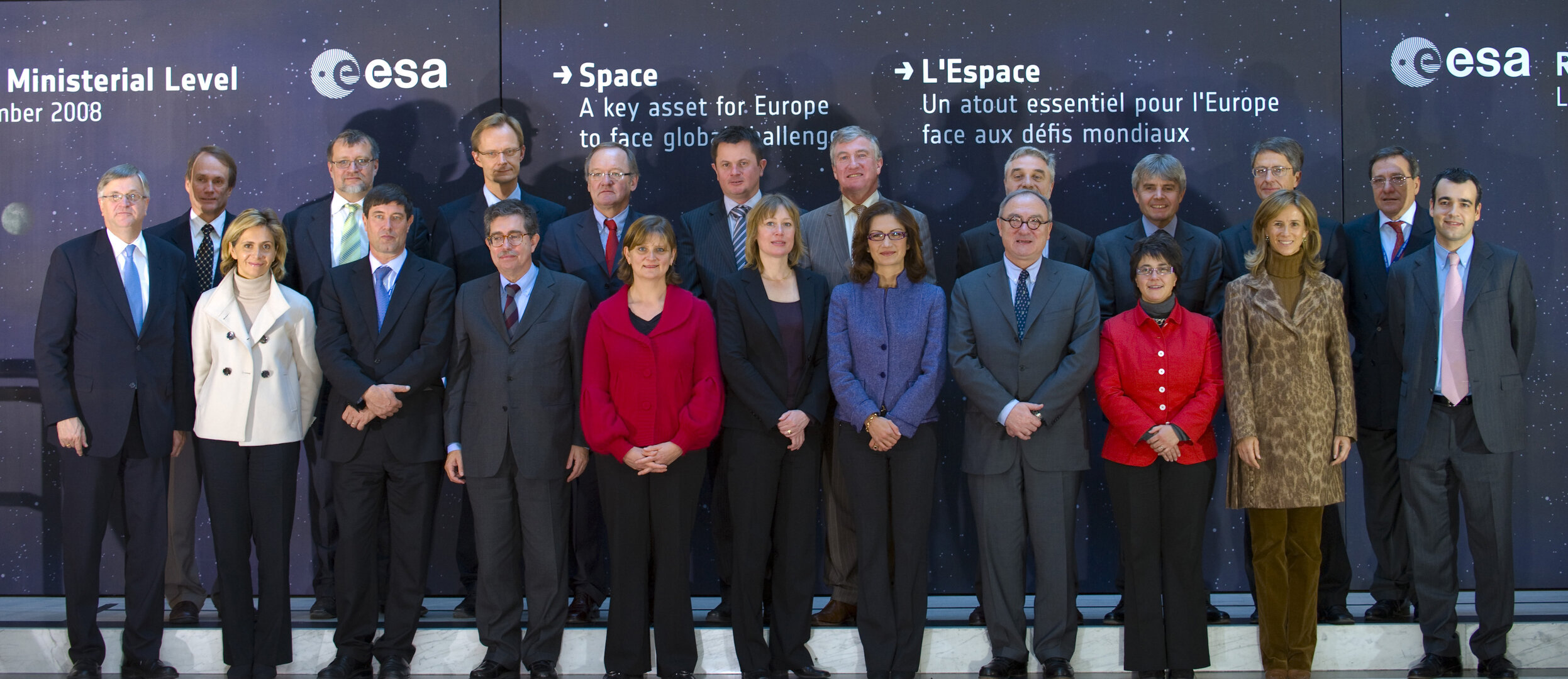 ESA Council Meeting at Ministerial Level 2008