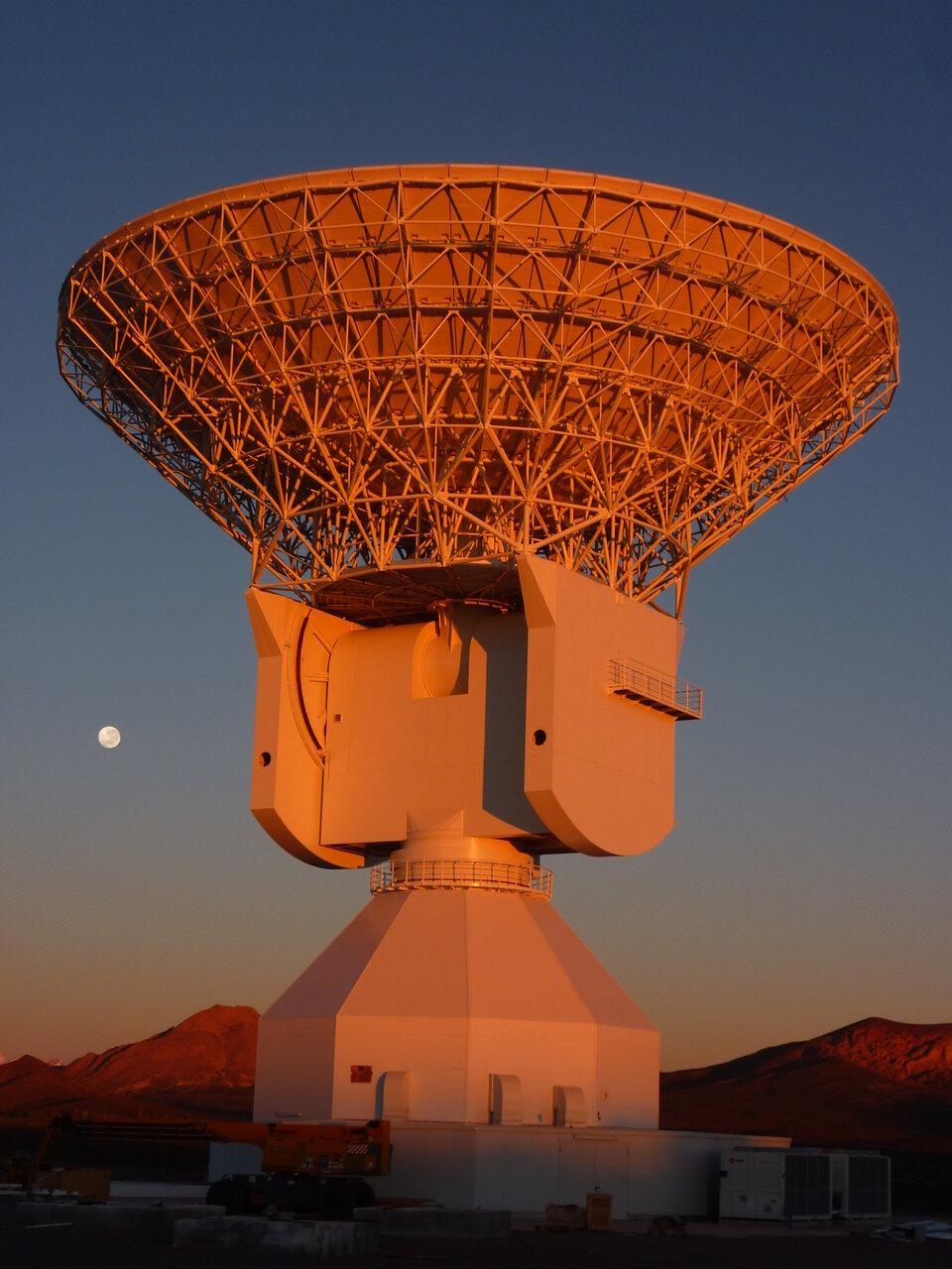 Ο σταθμός παρακολούθησης της Malargüe της ESA