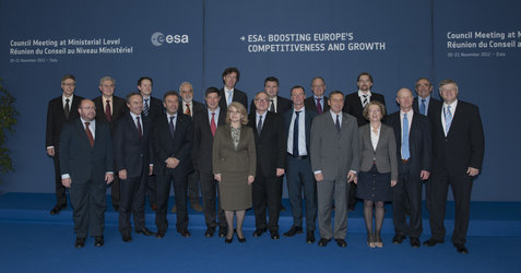 European ministers and representatives at Ministerial Council 2012