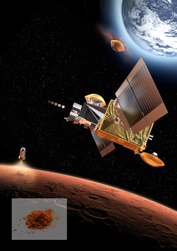 Mars Robotic Exploration Preparation (MREP) mission