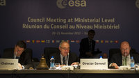 ESA Council at Ministerial Level, Naples, November 2112