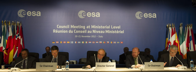 Ministerial Council press conference, Naples, 21 November 2012
