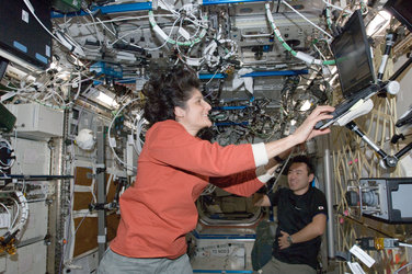 Sunita Williams on Station