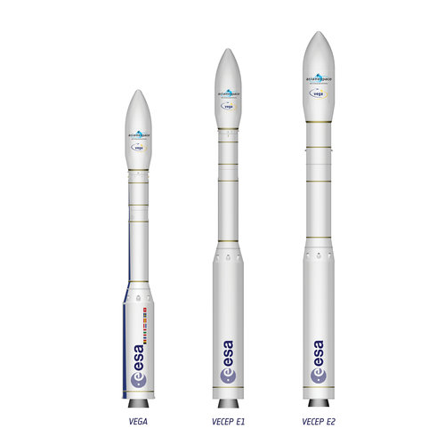 Vega with Vega Evolution launcher concepts