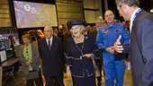 Visit of HM Queen Beatrix of the Netherlands and Italian Preside