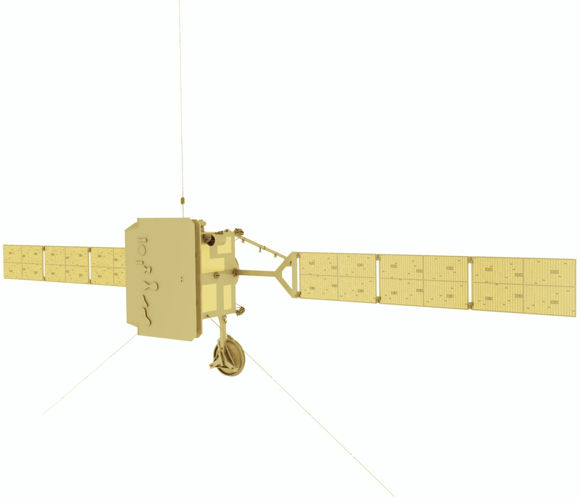 Artist impression of Solar Orbiter - front view