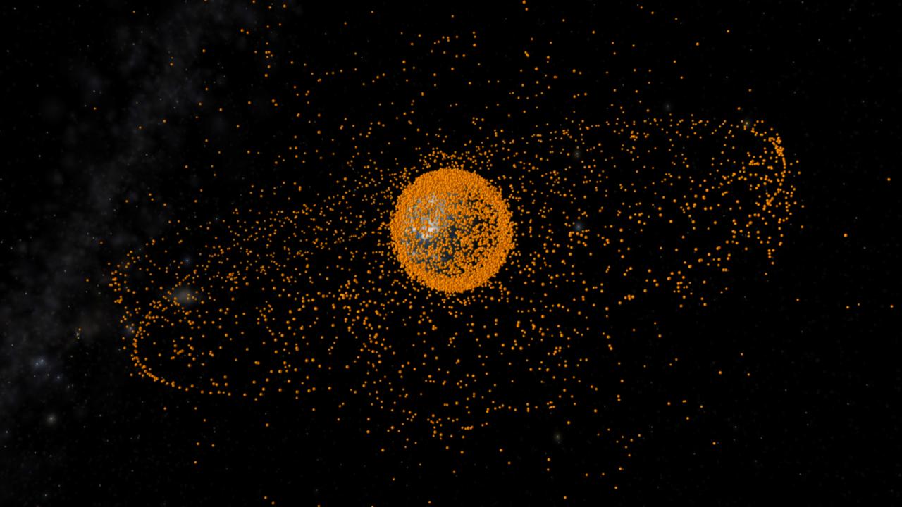 nasa orbital debris - 1280×720