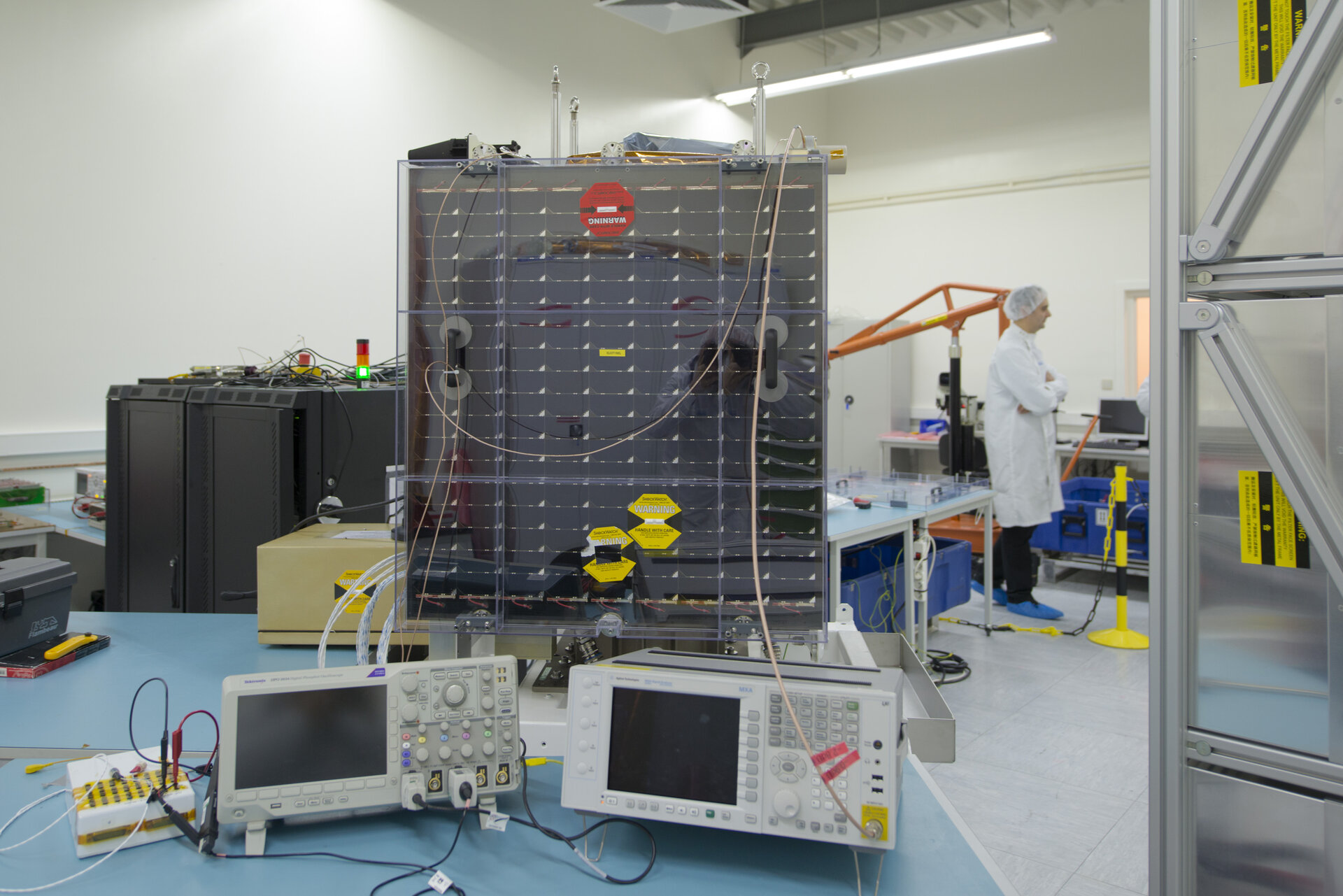 Final series of tests for Proba-V