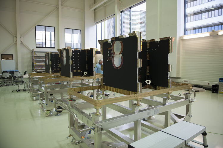 First Galileo FOC satellites at OHB
