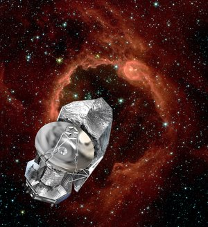 Herschel finds a hole in space