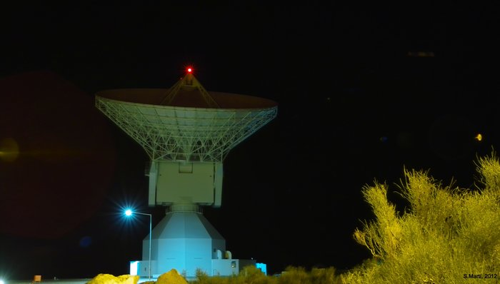 ESA's Malargüe deep-space tracking station, Argentina, is part of the Estrack network