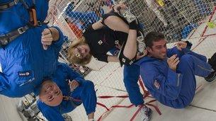 ESA desarrolla un nuevo método para medir presión intracraneal sin dolor Parabolic flight experiment medium