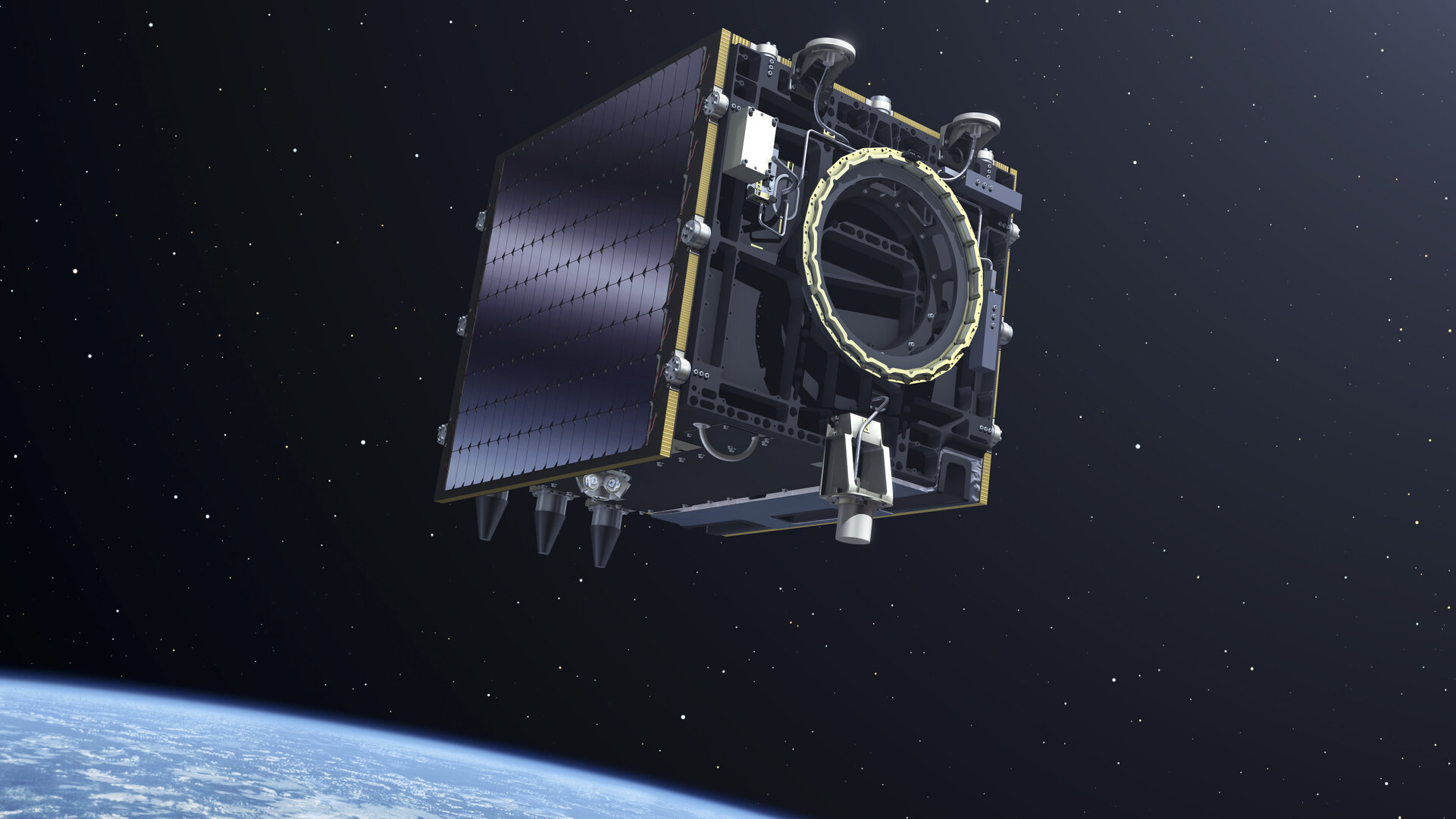 Artistic view of the Proba-V satellite