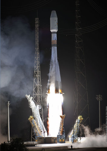 Soyuz VS04 Liftoff